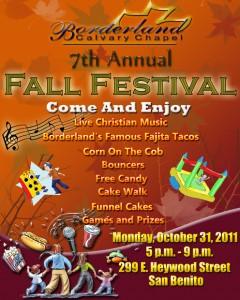 Borderland Fall Festival