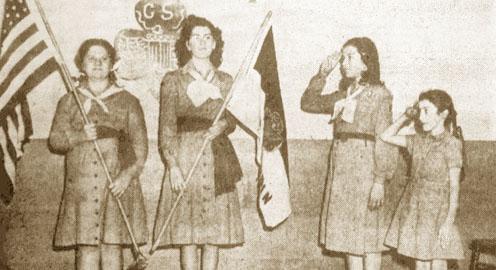 El Jardin girl scouts
