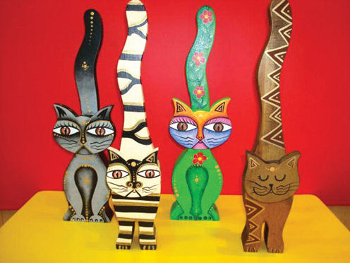 A Vibrant Heritage cats
