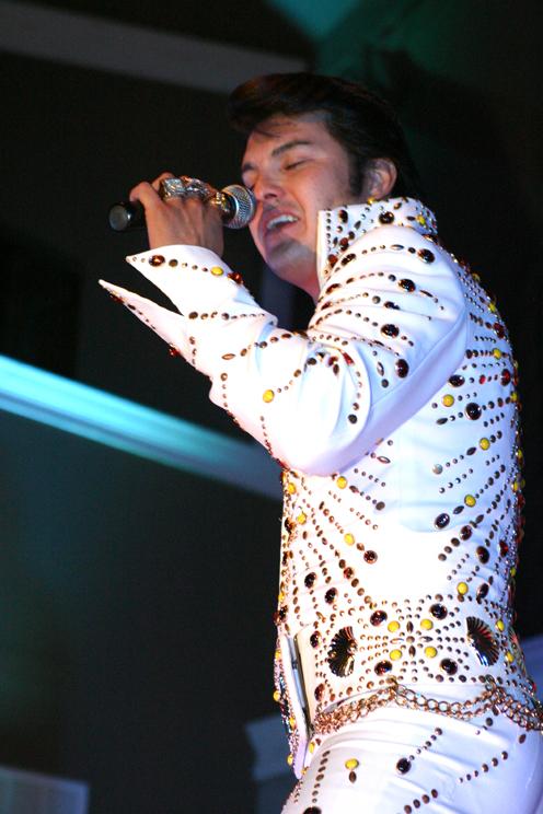 Chad Roy as Elvis Presley