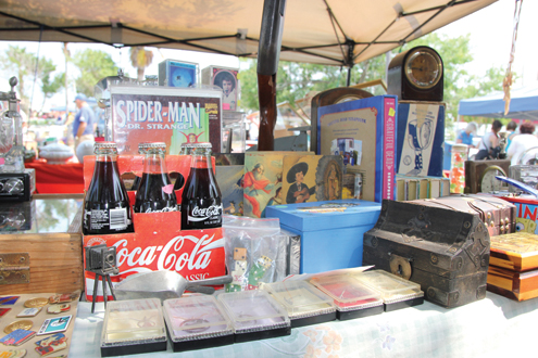coca cola and knick-knacks
