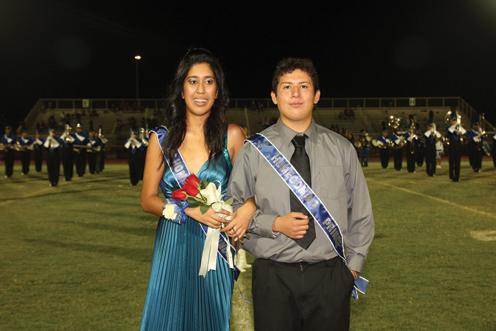 Prince Xavier Garcia and Princess Selena Tinajero