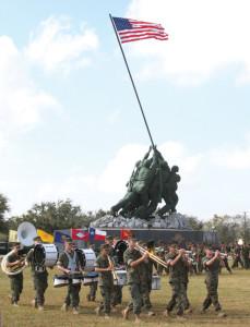 Iwo Jima parade pic-2-14-13