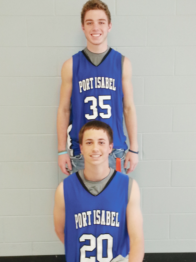 Zach Reeves and Kieler Gentry were named to the first team Basketball Academic All-State by the Texas High School Coaches Association Academic All-State. (Courtesy photo)