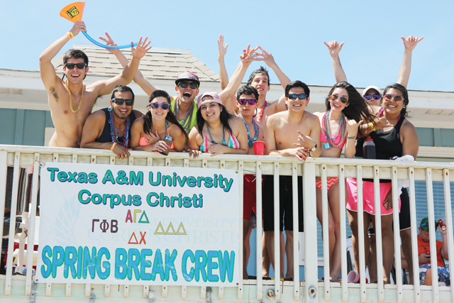 Texas Week has come to a close at South Padre Island, but not before Spring Breakers got their party on. (Staff photos by Ray Quiroga)