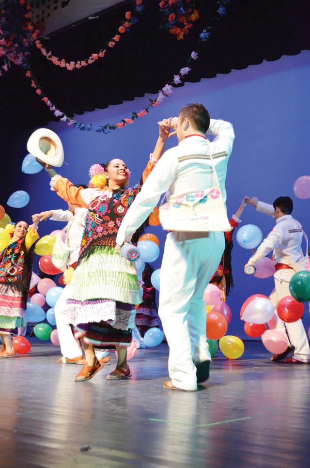 Ballet Folklórico to present Alegría extended