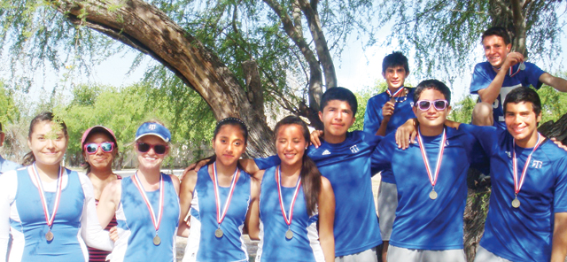 Port Isabel High School tennis competitors seen here medaled at a recent competition held in Harlingen on Friday, April 5. (Courtesy photo)