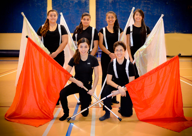 Port Isabel High School Color Guard High School