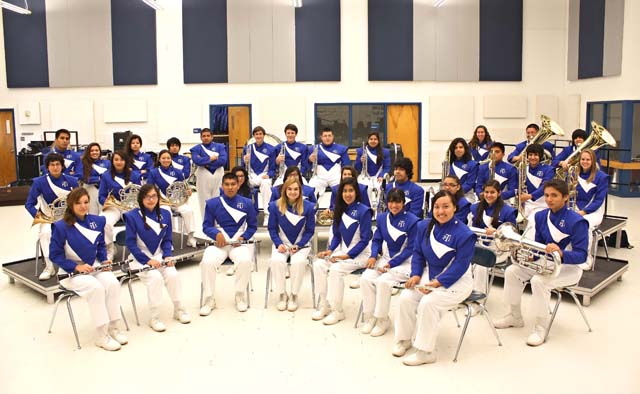 Port Isabel High School Wind Ensemble Band