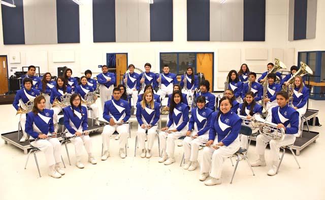 Port Isabel High School Wind Ensemble Band