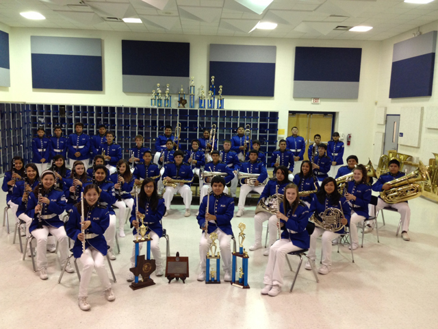 Port Isabel Junior High Honor Band