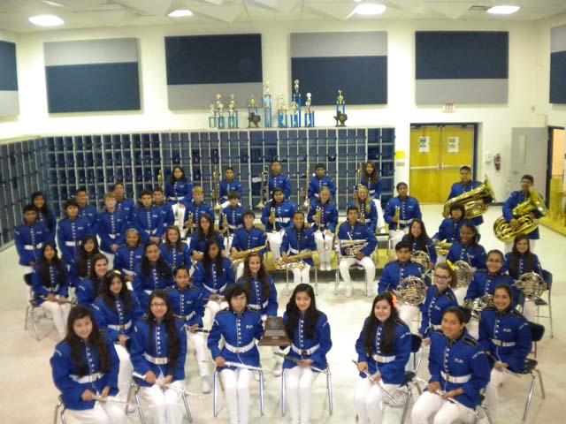 Port Isabel Junior High Symphonic Band