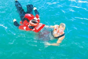 First beach rescue interagency team exercise off South Padre Island