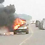 LF car fire pic-3-26-14