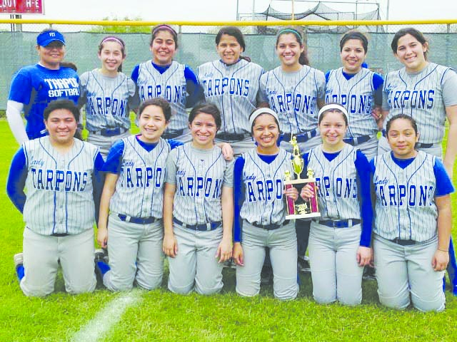 jv softball earns consolation trophy � port isabelsouth