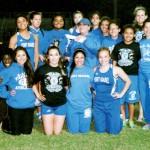 PI Lady Tarpons track team pic-4-17-14