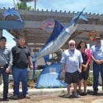 Students' sculpture at Sea Ranch