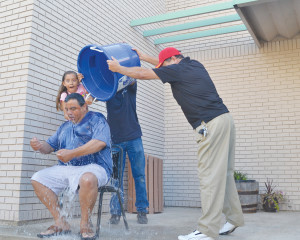 Vega accepts Ice Bucket Challenge 1