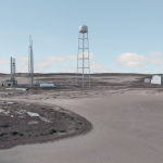 (Courtesy images) Depicted are an artist's renderings of the SpaceX commercial launch facility to be constructed on Boca Chica Beach in Brownsville.