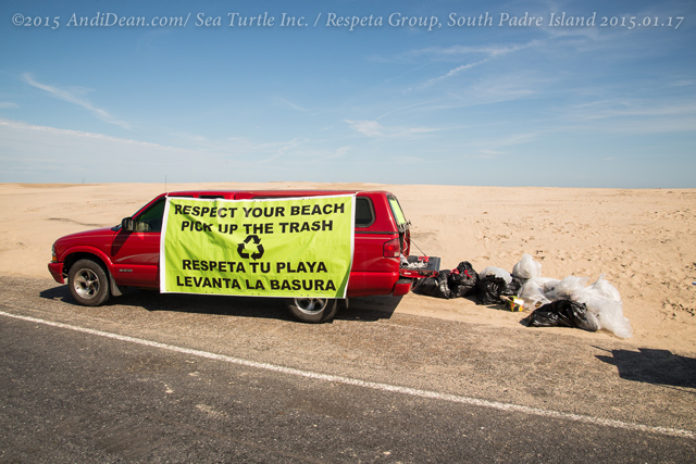 229_15.01.17_RespetaGroup_BeachCleanUp_SouthPadre Island,TX_20150117