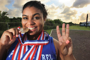 Dynamic Daniella: Standout athlete impresses outside the ring