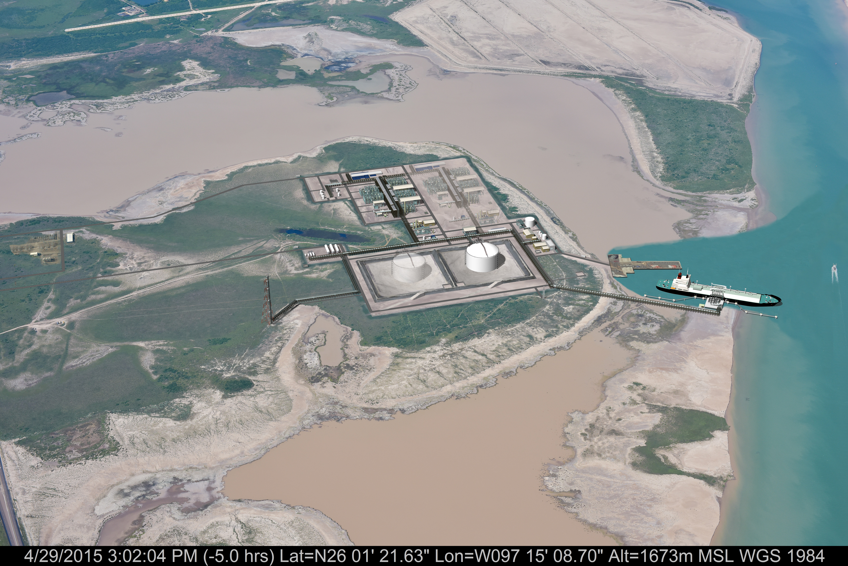 Texas LNG - Rendering 2