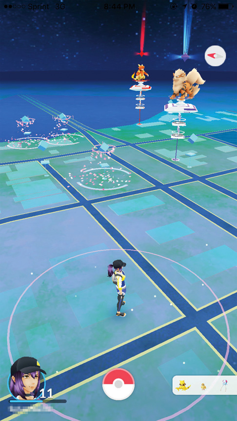 Pokémon Go Takes Over the Laguna Madre – Port Isabel-South
