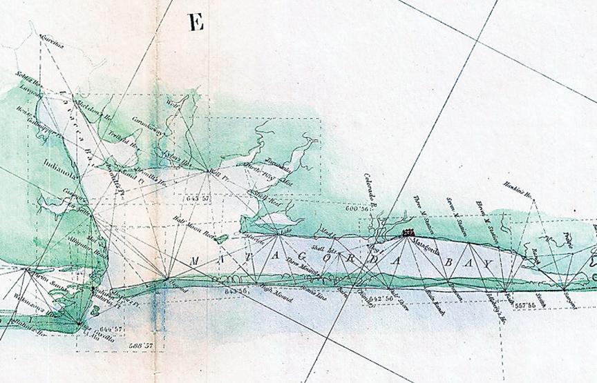1857_u_s__coast_survey_triangulation_map_of_matagorda_bay_to_galveston_bay_texas_-_geographicus_-_galvestonmatagorda-uscs-1857web