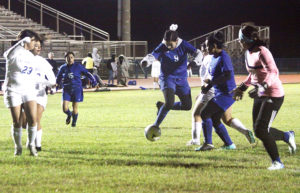 Soccer girls blank Lady Bearkats