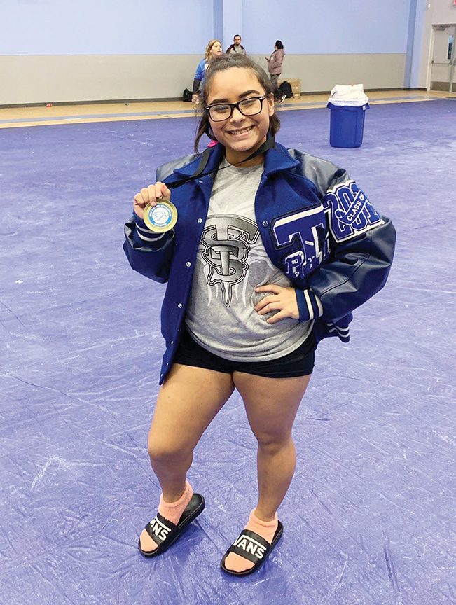 Good as gold: Barrera earns top spot at Edinburg meet