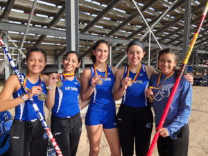 Girls three times golden at La Feria