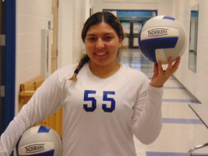 Vasquez ready for volleyball season