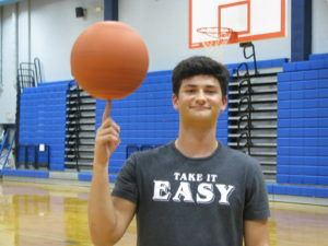Varsity Hoops Player Pinkerton Eager to Get Started