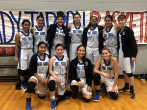 Lady Tarpons Handle Pace, 58-46