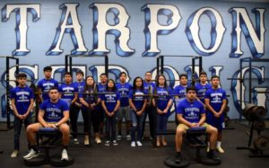 Port Isabel girls powerlifting team earns gold at Yellow Jacket Invitational