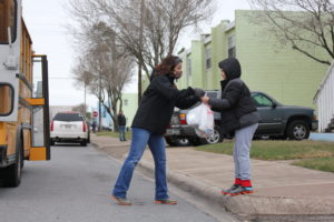 After freeze, cities, school district give aid