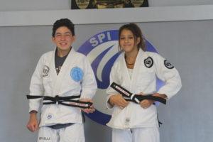 Karate kids: SPI BJJ graduates two junior black belts