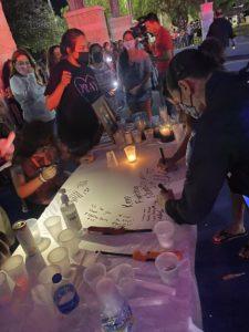 Vigil held for LVPD officer fighting COVID-19